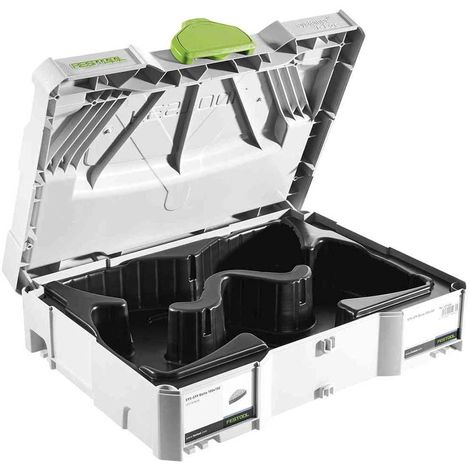 Coffret avec calage pour abrasifs FESTOOL Systainer T-LOC SYS-STF Delta 100x150