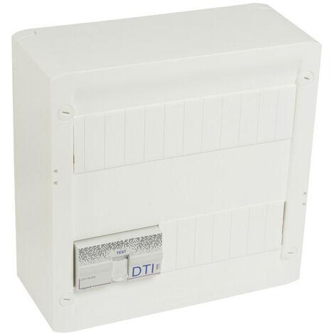 Coffret Basique Grade 2 DRIVIA18 -4 x RJ45 STP + répartiteur TV 2 S - Legrand