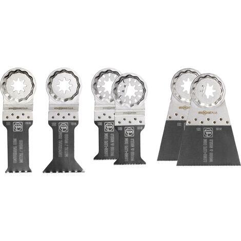 Coffret Best of Lame de scie E-Cut bois/métal Starlock Plus FEIN - 35222942050