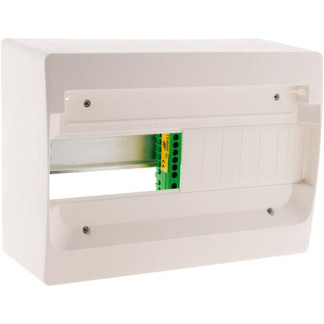 Coffret blanc à équiper avec accessoires avec 13, 26 ou 39 modules