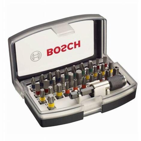 """main image of """"Coffret BOSCH 32 pieces - Embouts de vissage + porte embouts 1/4 - 2607017319"""""""