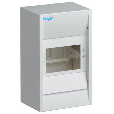 Coffret cache-borne, 4 modules - Hager