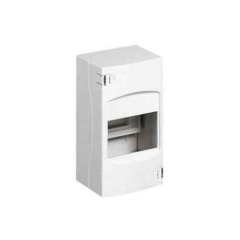 Coffret cache-bornes 2 modules - Blanc
