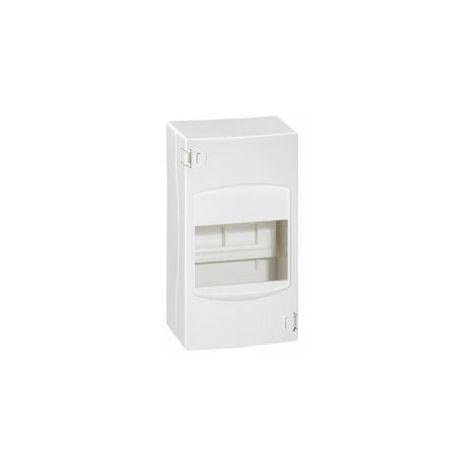 Coffret cache-bornes 4 modules - Blanc - Legrand