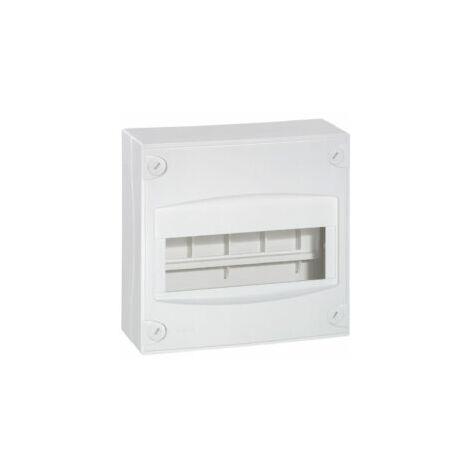 Coffret capacité mini 8 à 9 modules - Blanc RAL9010 - 001308 - Legrand