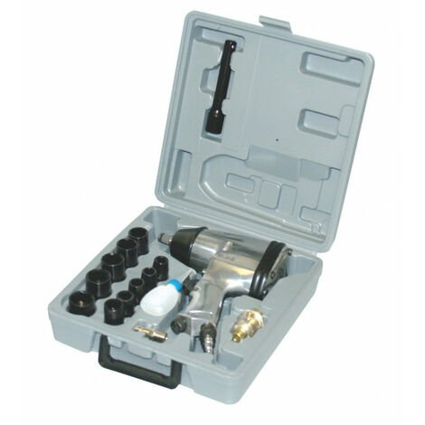 Coffret clé a choc pneumatique 1/2'', 17 pcs - AUTOBEST