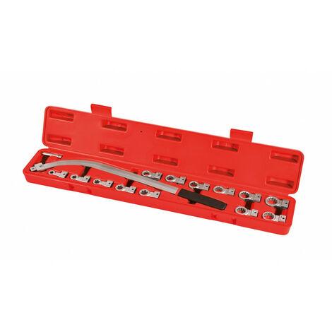 Coffret clés coudées pour courroie et galet tendeur 610 mm