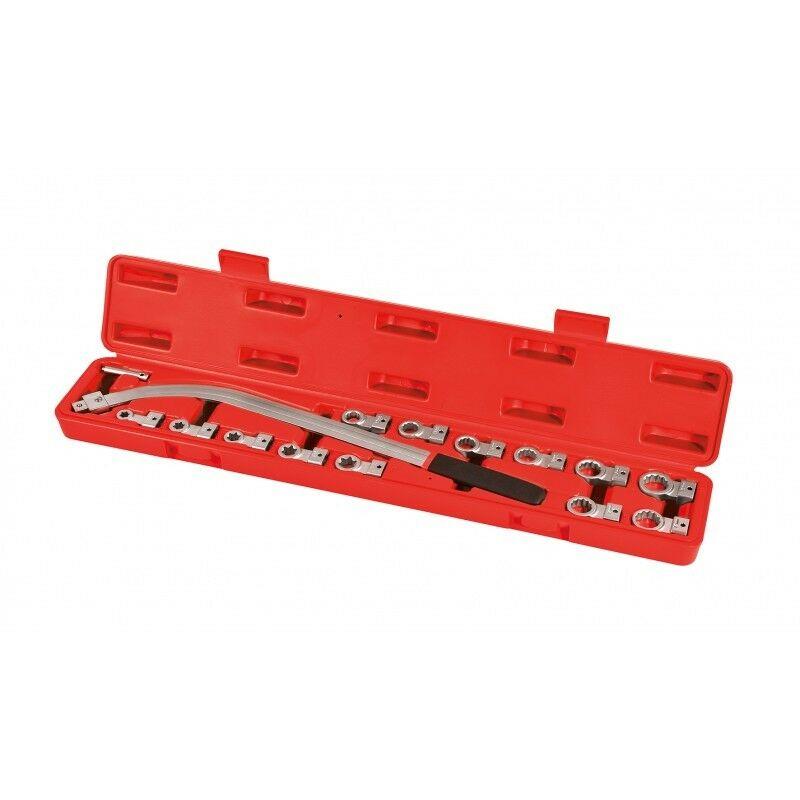 Autobest - Coffret clés coudées pour courroie et galet tendeur 610 mm