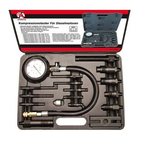 Coffret compressiomètre pour moteur diesel max 70 bar