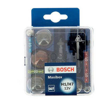 Coffret d'ampoules H1 - H7 - 12 V - 12 pièces - Bosch