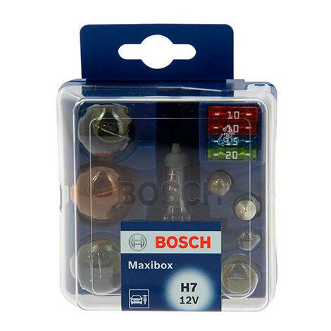 Coffret d'ampoules H7 - 12 V - 12 pièces - Bosch