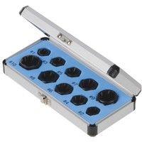 Coffret de 10 extracteurs de boulons - 10 pcs