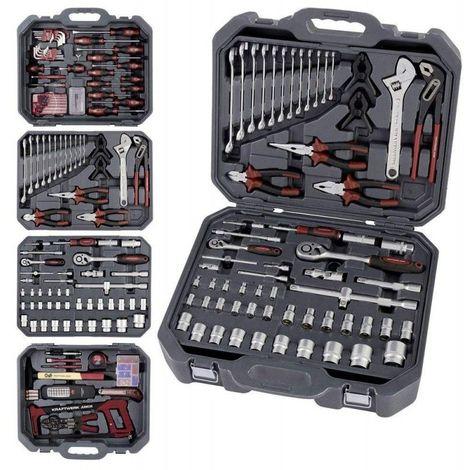 Coffret de 243 outils universels Basic Kraftwerk 1049