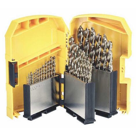 Coffret de 29 forets métal EXTREME DEWALT - Ø1 à 13 mm - DT7926