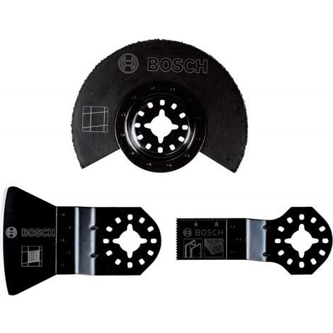 Coffret de 3 pièces pour carreleur AIZ 20 ab (1x)/ ATZ 52 SC (1x)/ acz 85 lmt (1x) - Bosch 2608662342