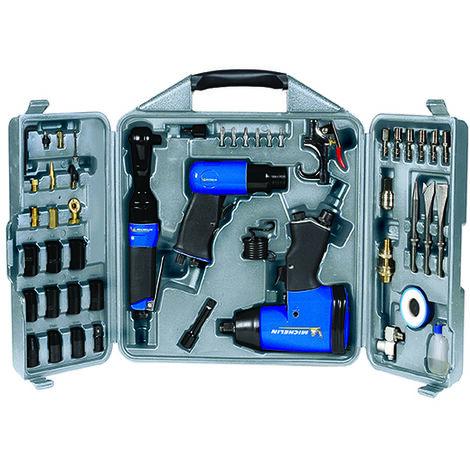 Coffret de 49 Accessoires Pneumatiques Michelin pour Compresseur
