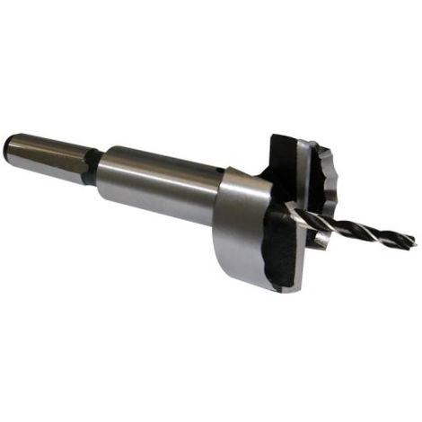 Coffret de 5 mèches à façonner Forstner, diamètres 25 - 30 - 35 - 40 - 50 mm