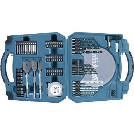 Coffret de 71 accessoires perçage/vissage MAKITA - D-47145