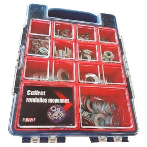 Coffret de 920 écrous indesserables DIN 985.8 - Zingué - COFECINDV2