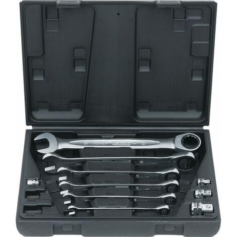 Coffret de clés mixtes a cliquet Gearplus 10 pièces - KS Tools 503.4260