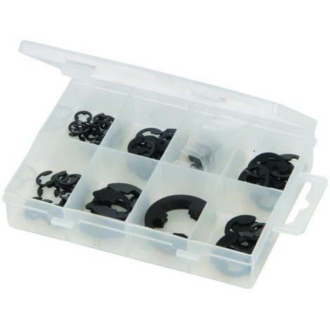 Coffret de clips en E 135 pcs