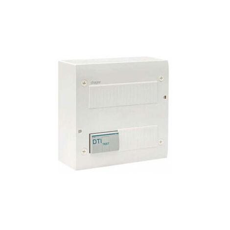 Coffret de communication éco - 4 RJ45 - Grade 2TV - Hager