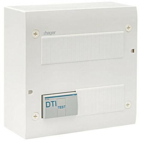 Coffret de communication éco 4xRJ45 Grade 2TV (TN305)