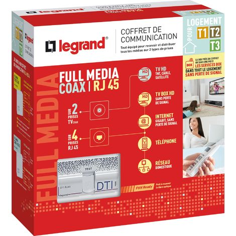 Coffret de communication full media
