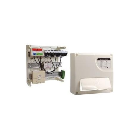 Coffret de communication Michaud Grade 1 delta initial 4 RJ45 + TV Coax