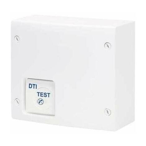Coffret de communication - Pré équipé - Coffret VDI grade 1 - Répartiteur TV 4 sorties - 4 RJ 45 - Gewiss