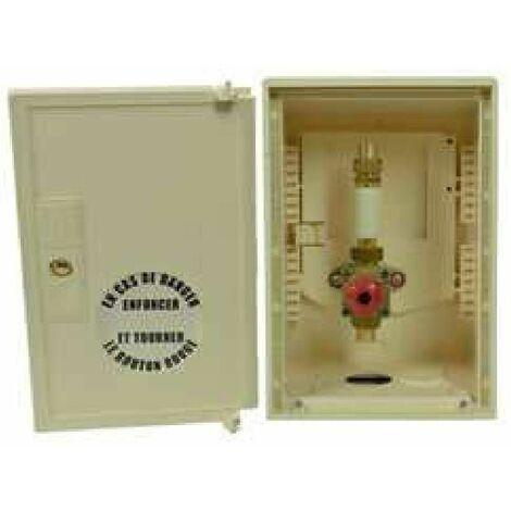 Coffret de coupure coup de poing et signalisation - Cuivre 18 mm
