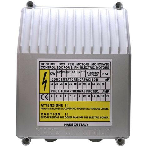 """main image of """"Coffret de démarrage pompe de puit 1.1Kw - 230V"""""""