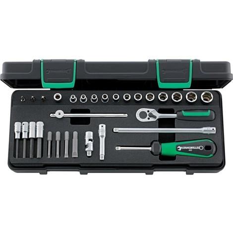 Bosch Clés à Douille-Set 30 mm 7-1 9 pièces