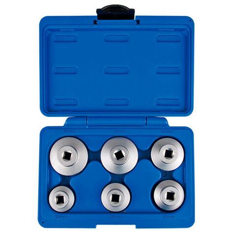 Coffret de douilles 3/8 pour filtre à huile - 6 pièces