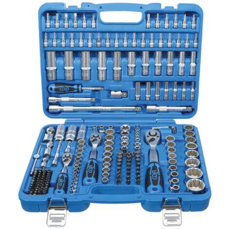 Coffret de douilles douze pans et accessoires BGS TECHNIC - 6,3 mm / 10 mm / 12,5 mm - 192 pcs - 2286