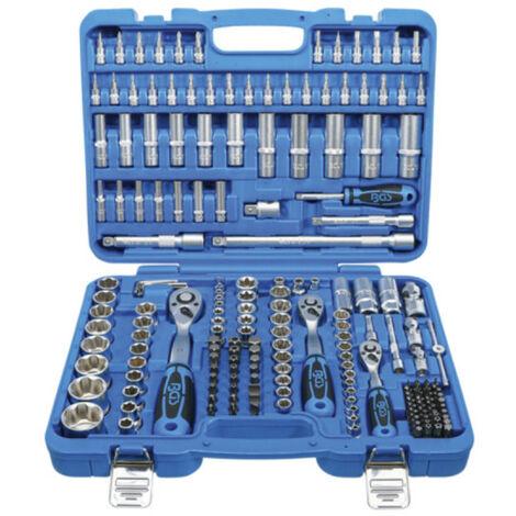 Coffret de douilles super lock et accessoires BGS TECHNIC - 6,3 mm / 10 mm / 12,5 mm - 192 pcs - 2292