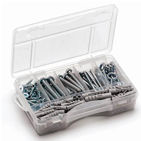 Coffret de fixation 165 pièces Multiproduits 01 de petite taille - MLMULT101 - Index