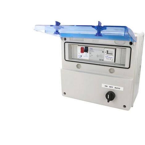 Coffret de piscine précablé pour pompe de filtration jusqu'à 1300W
