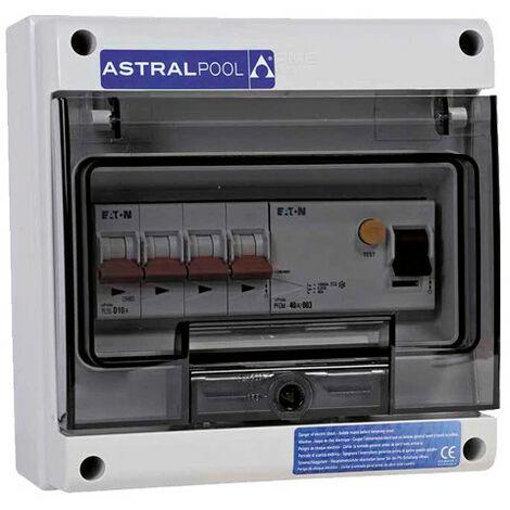 Coffret de protection pour pompe à chaleur - Monophasé 25 A