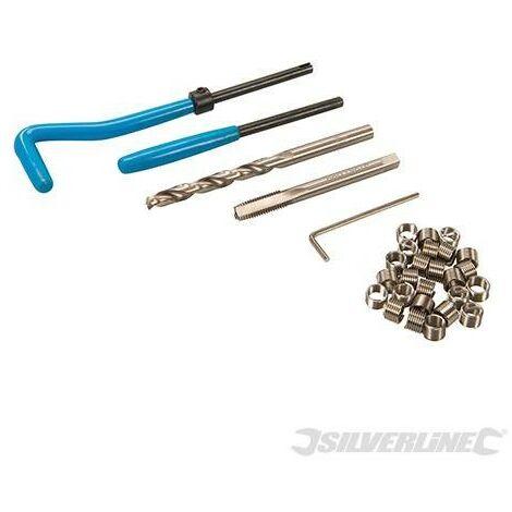Coffret de réparation pour taraudages de type Helicoil, M6 x 1,0 mm