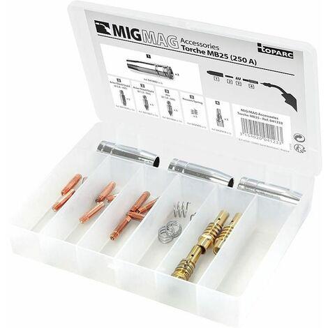 Coffret de soudure GYS pour bruleur MIG/MAG 250A
