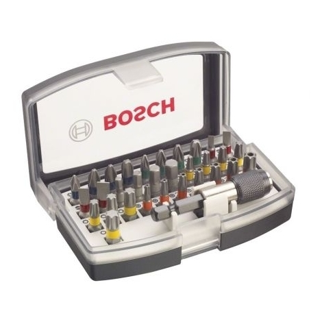 Coffret d?embouts de vissage Extra Hard 32 pièces Bosch 2607017319