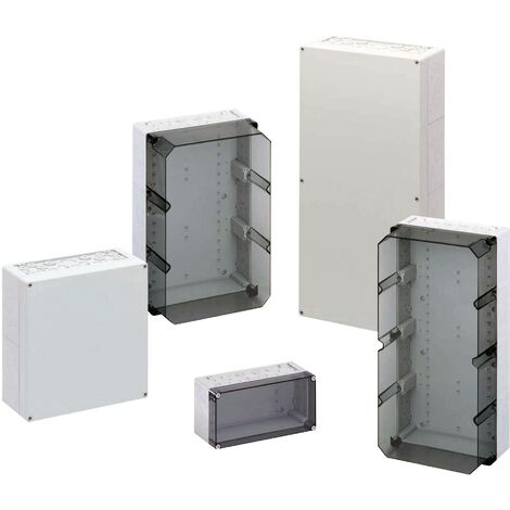 Coffret d'installation Spelsberg AKi 2-g 74140201 gris 300 x 300 x 132 Polycarbonate 1 pc(s) S29927