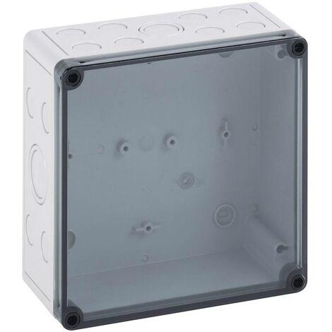 Coffret dinstallation Spelsberg TK PS 1313-7-tm 10600501 gris clair (RAL 7035) 130 x 130 x 75 Polycarbonate, Polystyrène expansé (EPS) 1 pc(s)