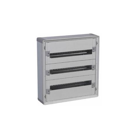 Coffret distribution isolant XL³160 tout modulaire 3 rangées et 72 modules - 401803 - Legrand