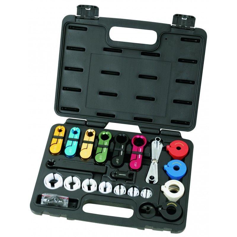 Coffret d'outils 22 p. pour conduites de carburant et climatisation 128.09 - Kraftwerk