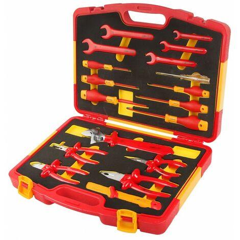 Coffret d'outils à main isolés 18 pcs