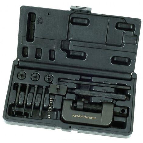 Coffret d'outils montage et démontage chaînes moto KRAFTWERK 106.35