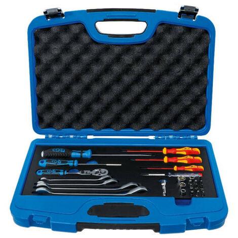 Coffret d'outils pour sanitaire/chauffage BGS TECHNIC - 29 pcs - 1433