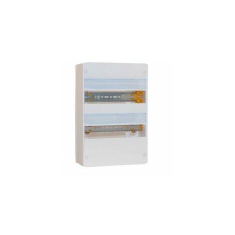 Coffret DRIVIA - 13 modules - 2 rangées - IP30 IK05 - Blanc RAL9003 - Legrand